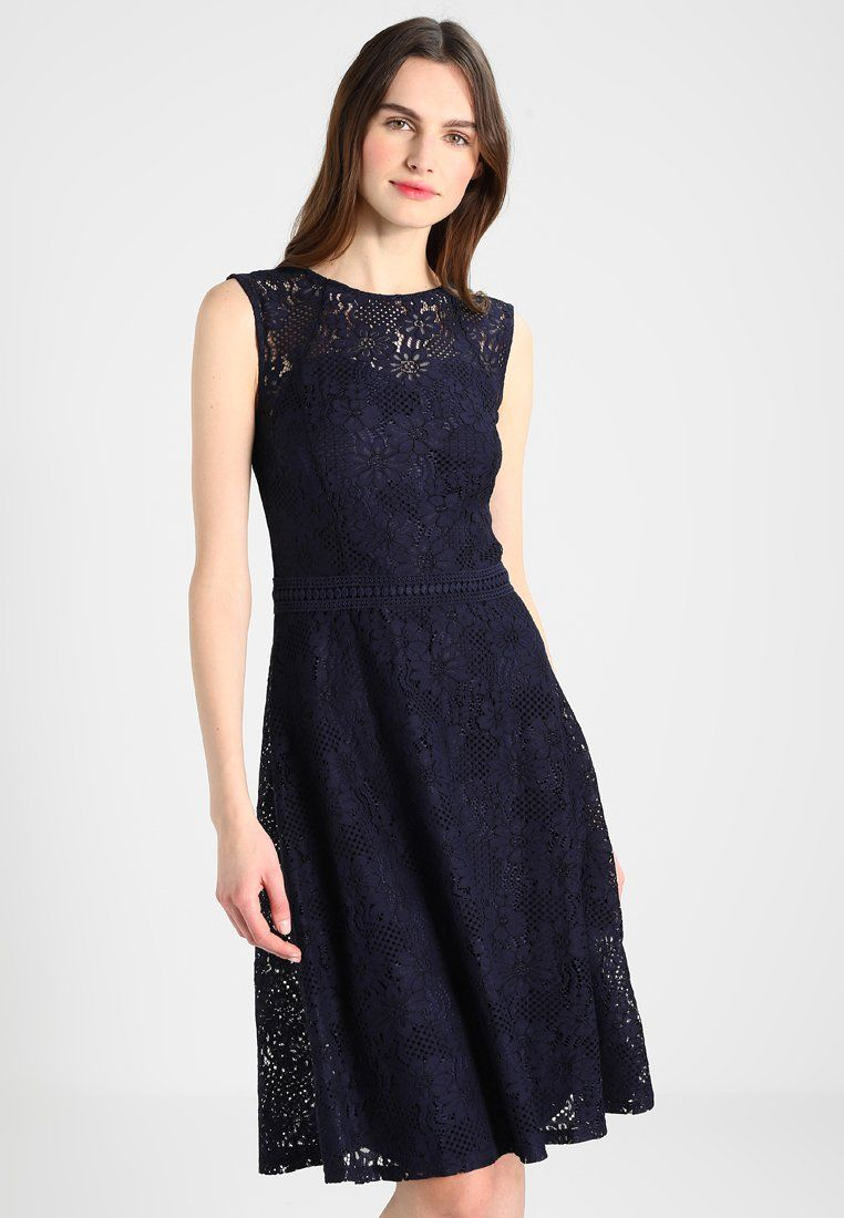 LACE MIDI DRESS WITH CAP SLEEVE - Cocktailkleid/festliches Kleid ...