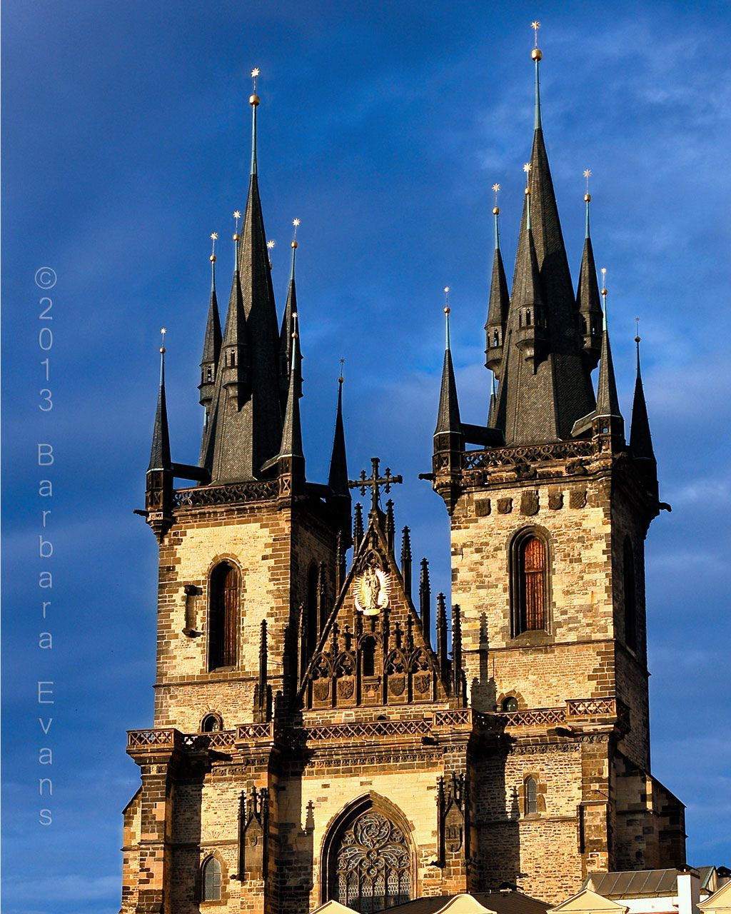 Tyn Church in Prague we stayed right next to this beauty!