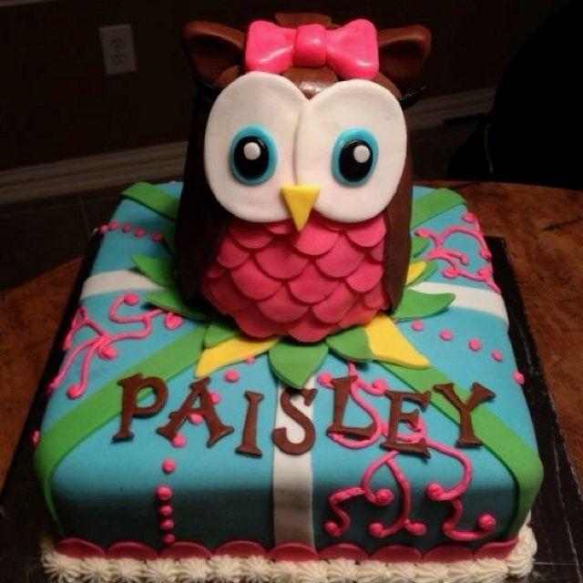owl birthday ideas for girls Baby Girl Birthday Bday Party