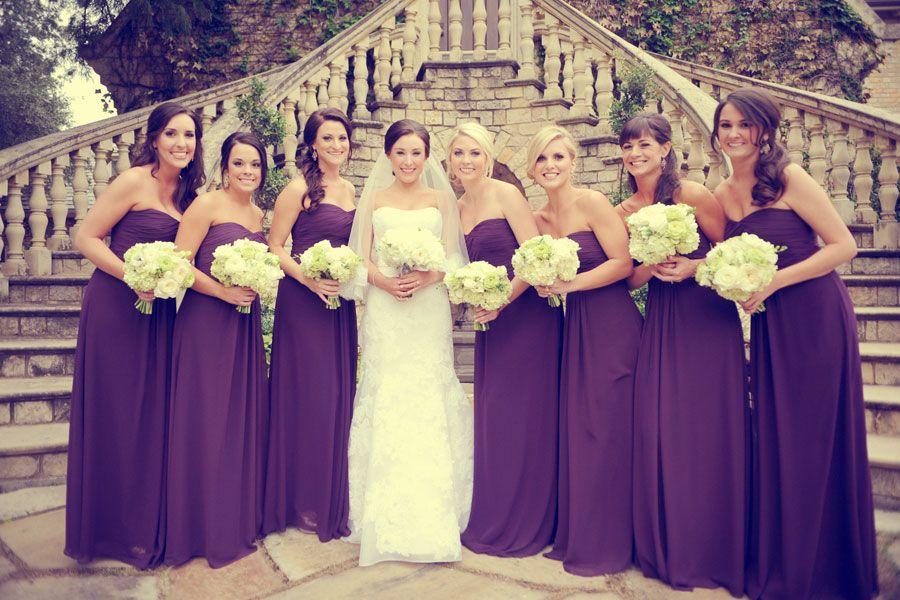 D Weddings   Wedding Party   Purple Wedding   Pinterest