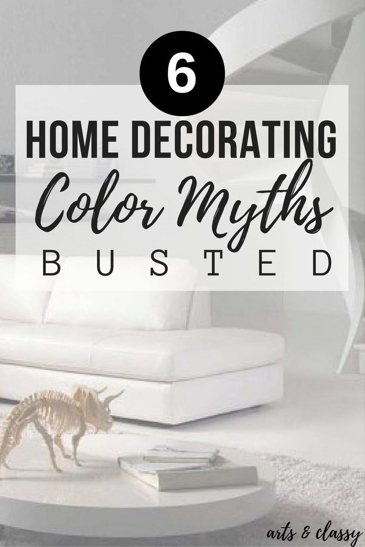 6 Home Decorating Color Myths Busted | Diy room decor, Frugal living ...