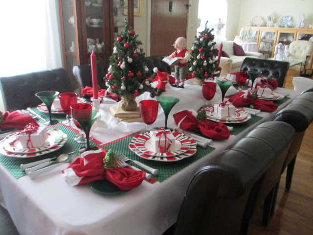 The Welcomed Guest u0027Twas the Night Before Christmas Table & The Welcomed Guest: u0027Twas the Night Before Christmas Table ...