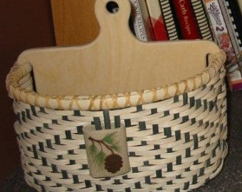Little Twill Mitten hand woven basket