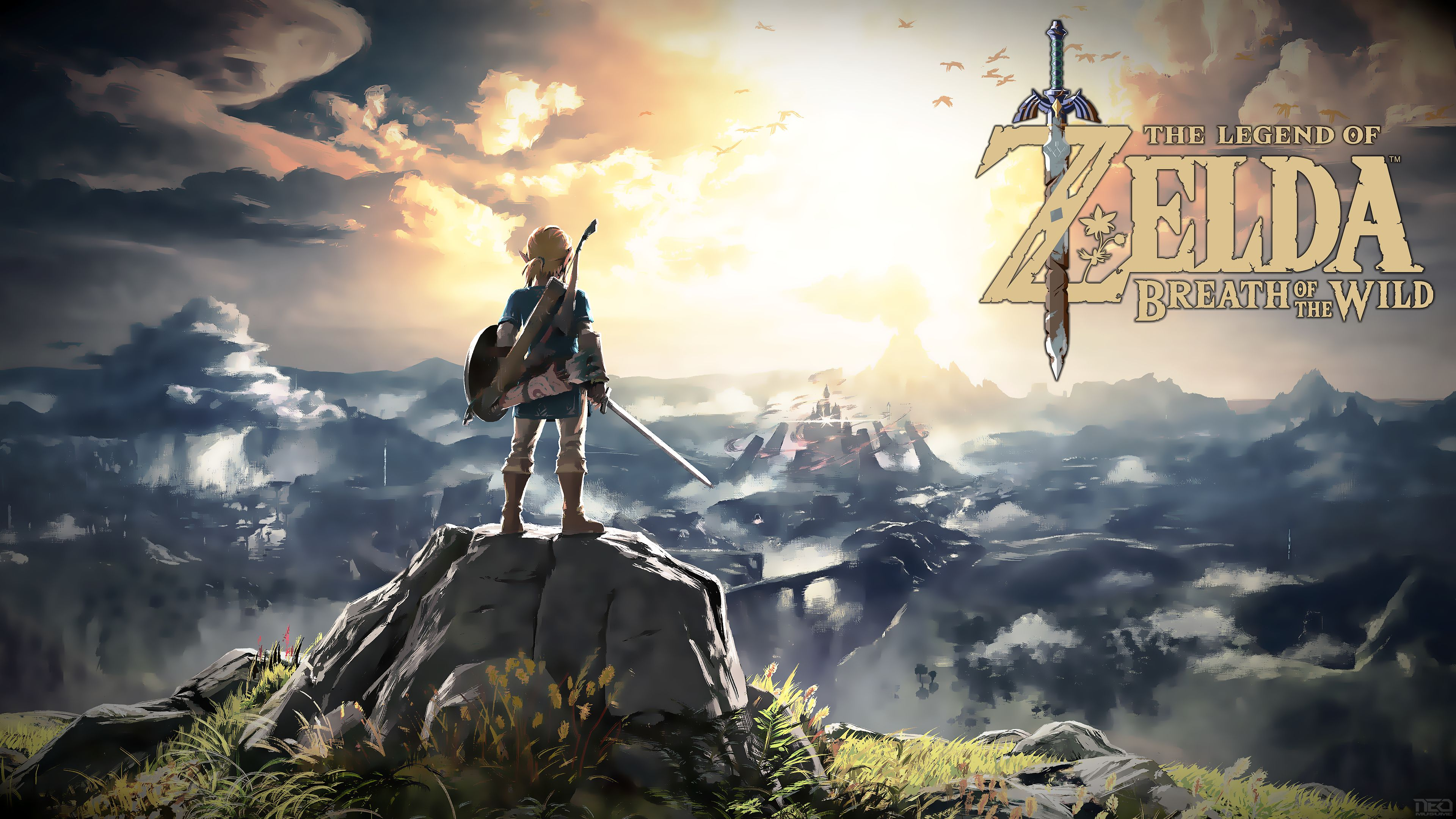 Deviantart More Like The Legend Of Zelda Breath Of The Wild Zelda
