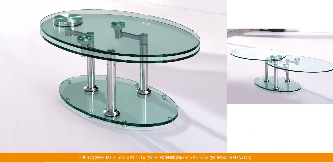 Extendable Gl Coffee Table Luxury Modern Furniture Check More At Http Www