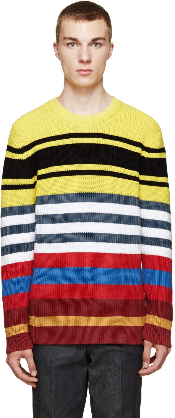 LOEWE Multicolor Striped Sweater | Men's Sweater | Pinterest ...