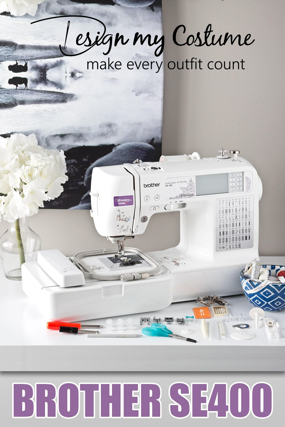 Brother SE400 Review (Embroidery & Sewing Machine