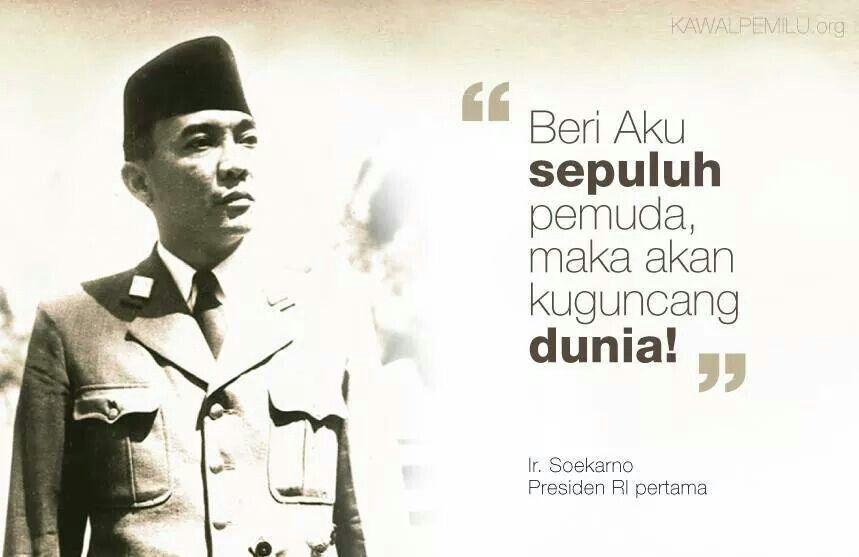 Pin On Soekarno