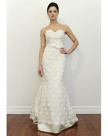 cda879c432e2 Modern Lace Wedding Dresses from Spring 2012 Bridal Fashion Week ...