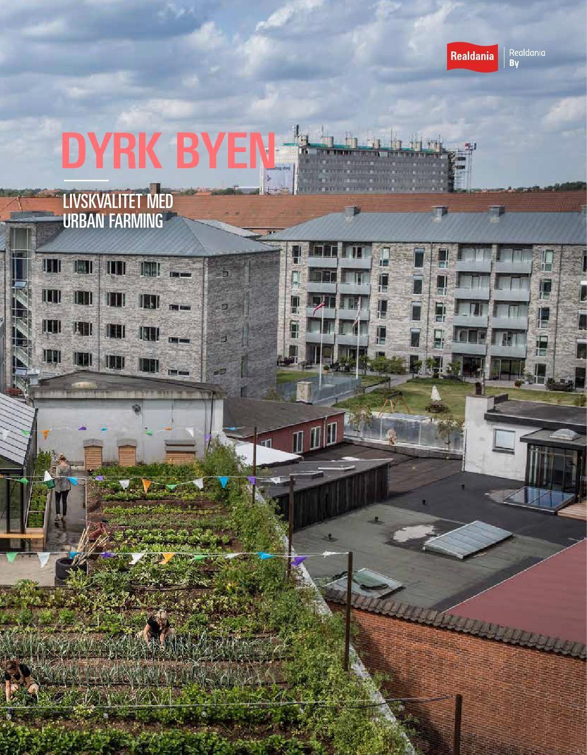 """Inspirationshæftet """"Livskvalitet med urban farming"""" handler om urban farmings mange varianter og om, hvordan urban farming kan skabe bedre byer med mere livskvalitet for den enkelte. Kataloget er udarbejdet i samarbejde med SLA."""