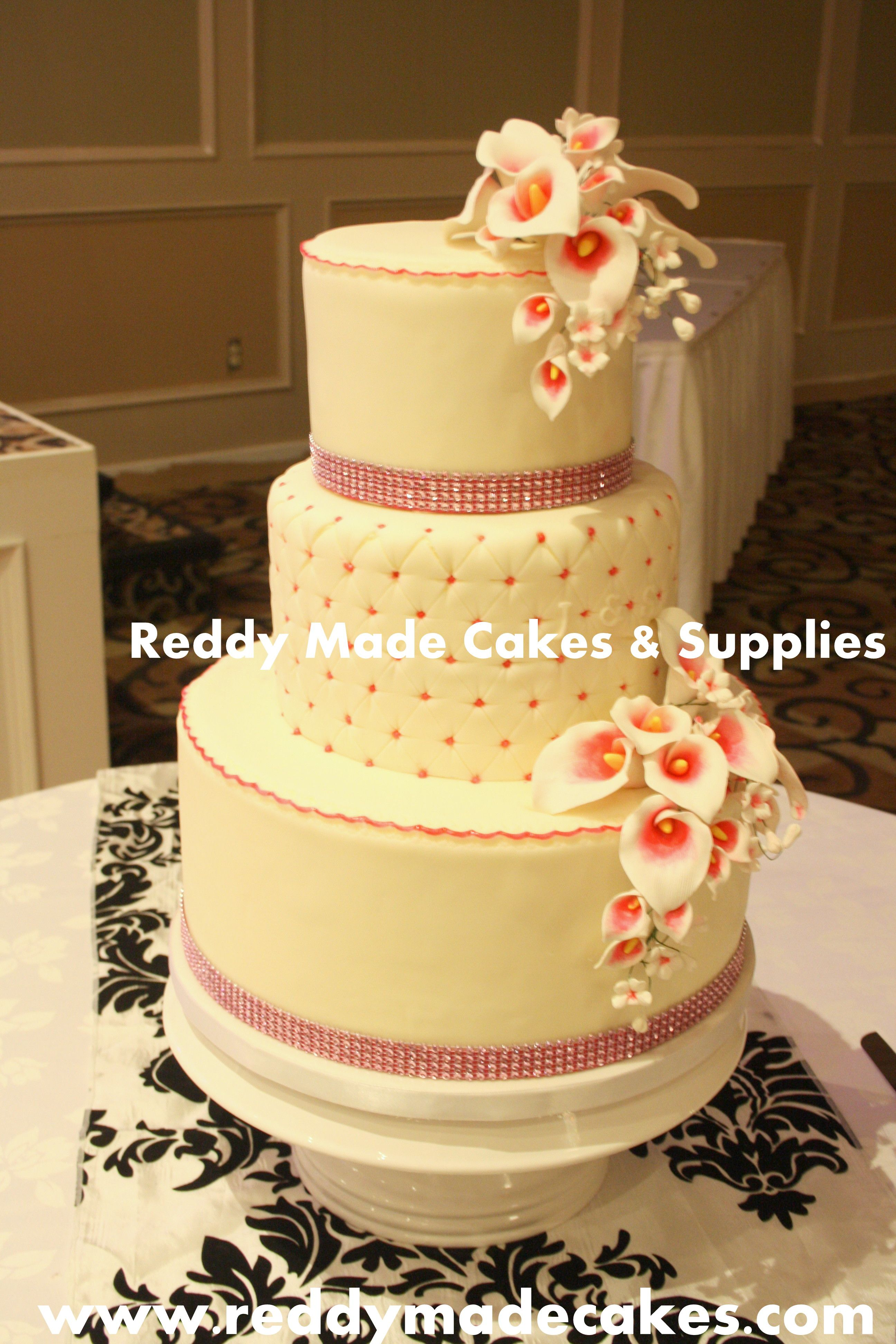 Gorgeous Wedding cake from August 2014   Reddy Made Cakes ...