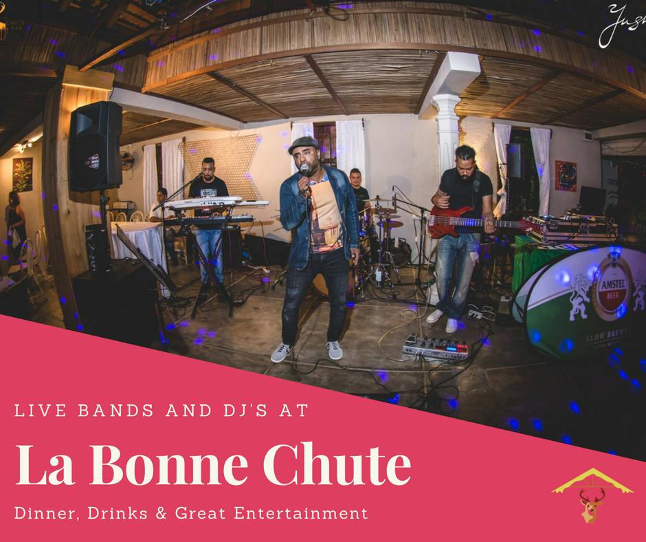 Live Entertainment La Bonne Chute Restaurant Bar