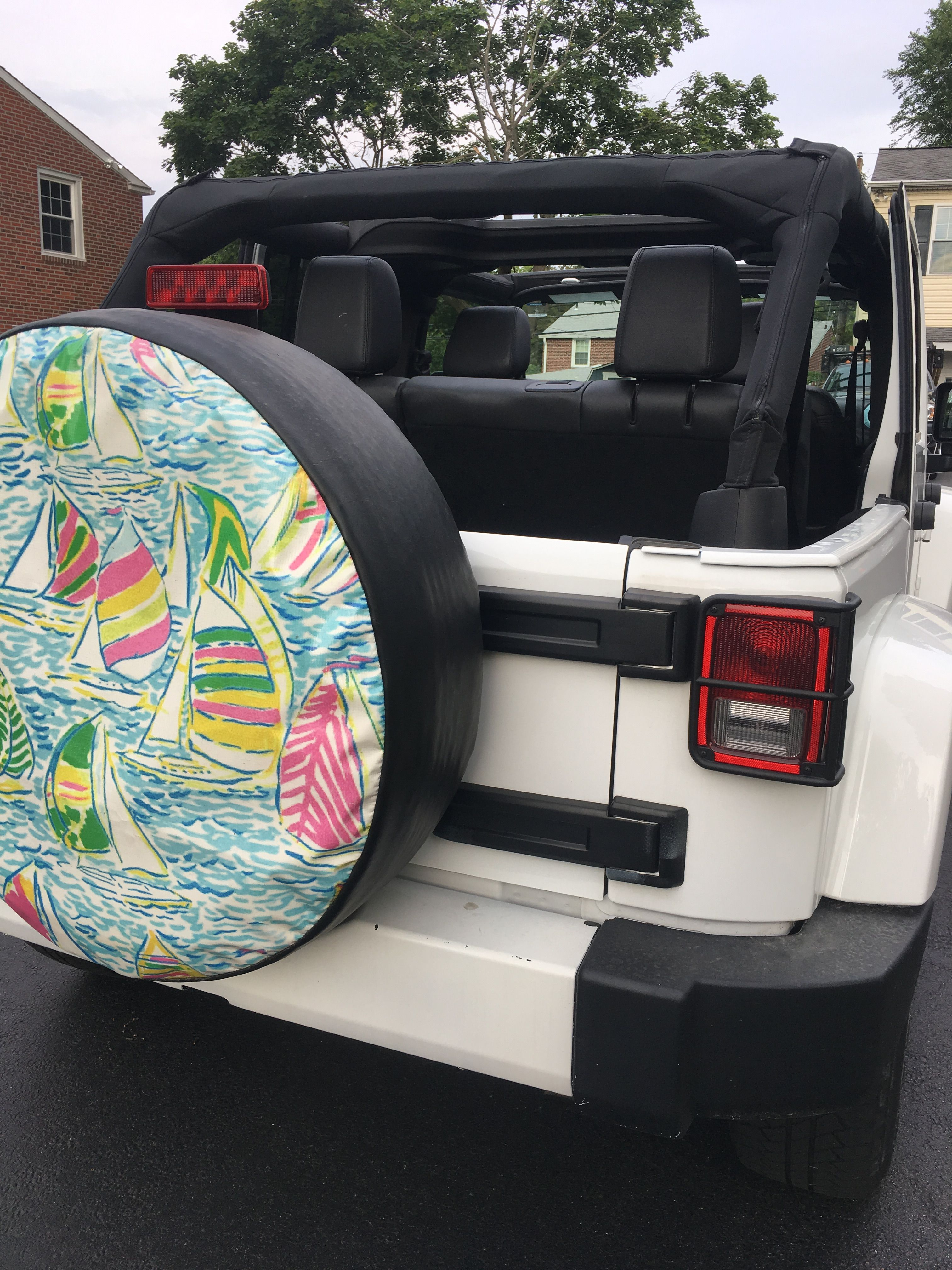 Lilly Pulitzer Tire Cover Jeep Tire Cover Jeep Accessories
