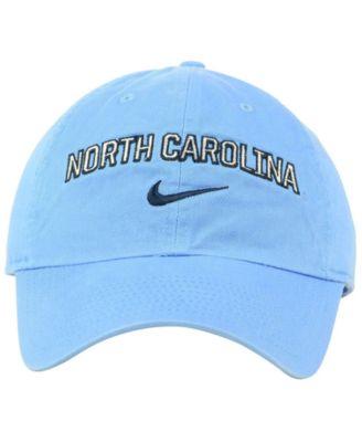 new concept ab190 0c85d Nike North Carolina Tar Heels H86 Wordmark Swoosh Cap - Blue Adjustable
