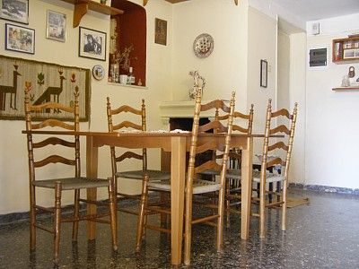 Dining room, sits comfortably eight persons