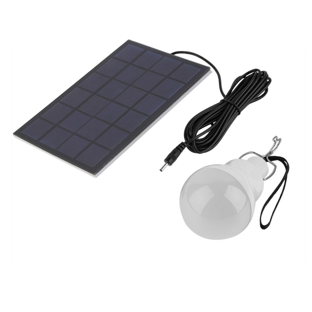 Solar Panel With Led Light Part - 47: Outdoor/Indoor Solar Powered Led Lighting System Light Lamp 1 Bulb Solar  Panel Low-