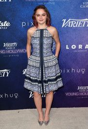 Joey King Halter Dress