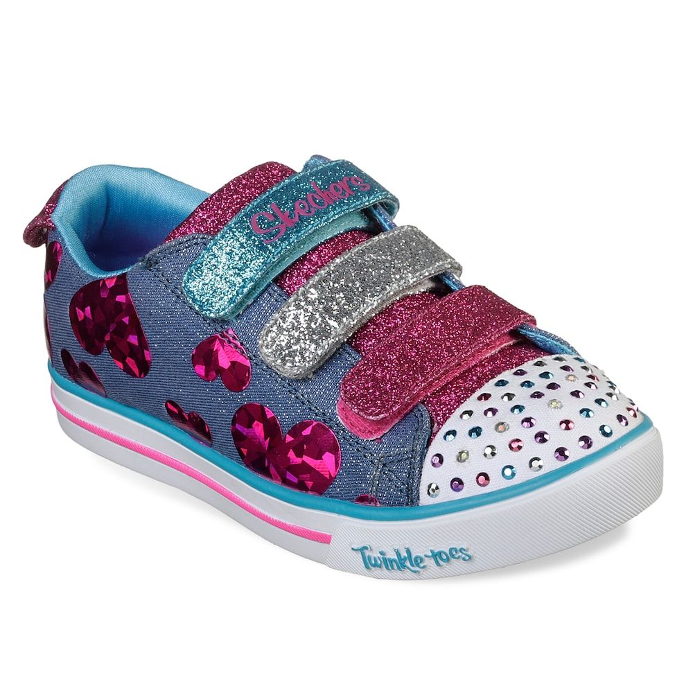 sparkly light up shoes
