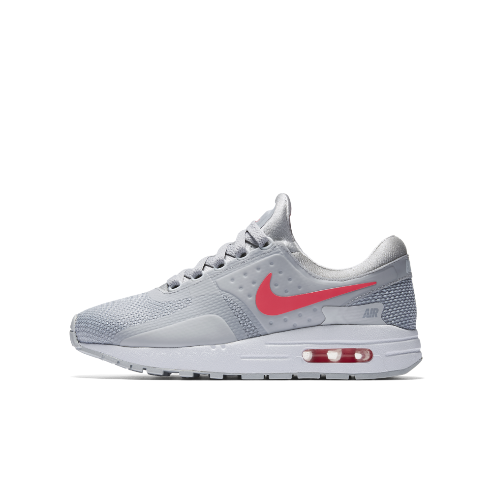 Nike Air Max Zero Essential Big Kids  Shoe Size 5.5Y (Grey ... c07f101ae