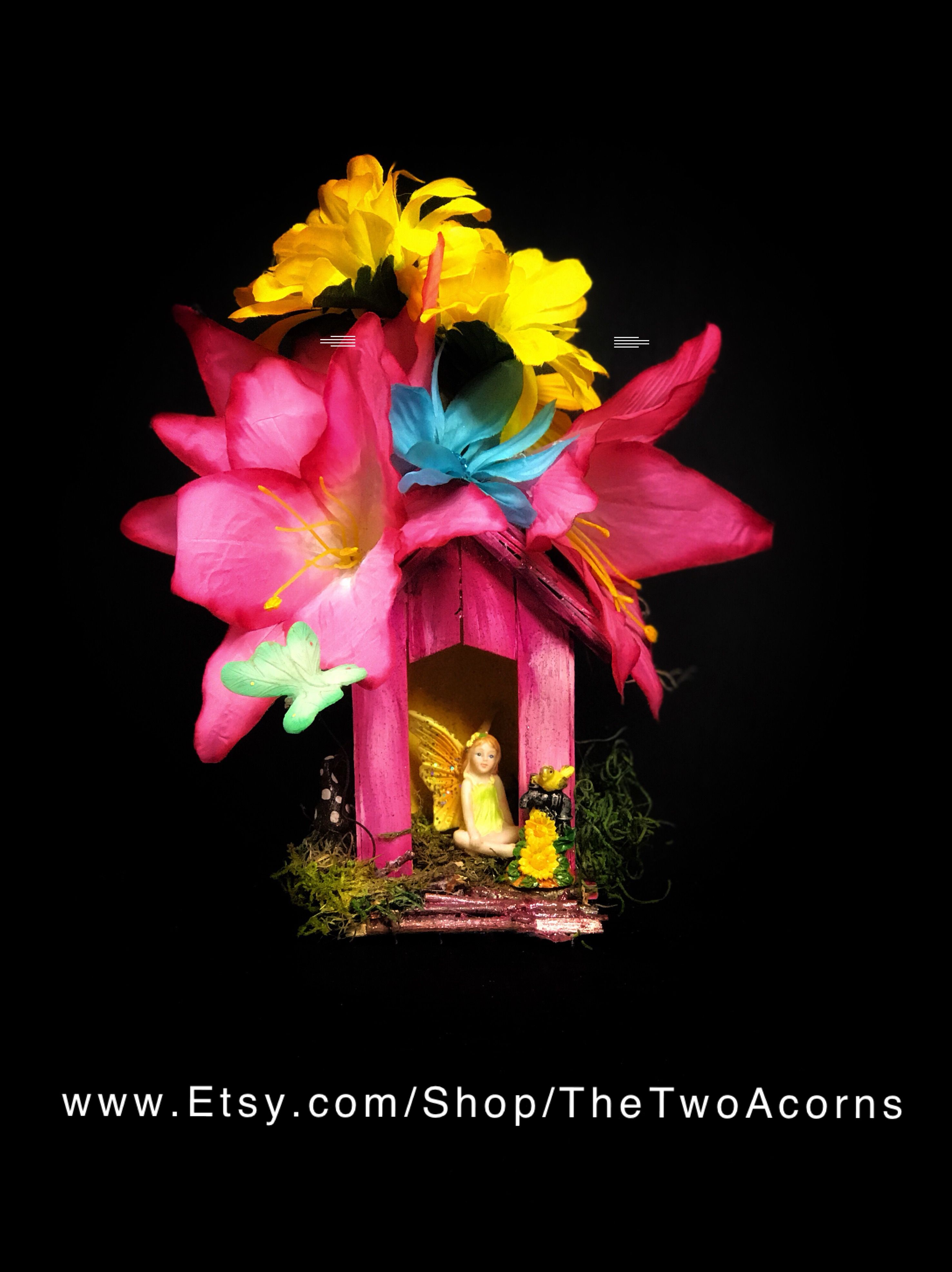 Fairy House Kit DIY Craft Kits for adults and kids