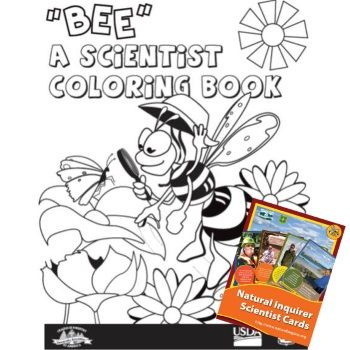 Check Out This New Offer From Natural Inquirer They Are Offering Up Many Freebies Such As Coloring Books Postcards Prints Coloring Books Free Coloring Bee