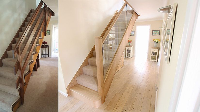 Read About Our Latest Staircase Renovation, Changing A Traditional Cut  String Staircase To An Oak