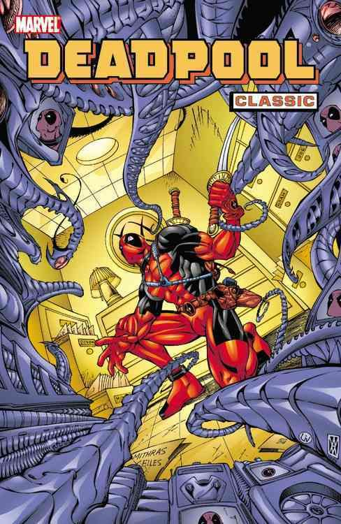 Deadpool Classic 4 Paperback Overstock Com Shopping The Best Deals On Comics And Graphic Novels Deadpool Classic Marvel Comics Deadpool Comics