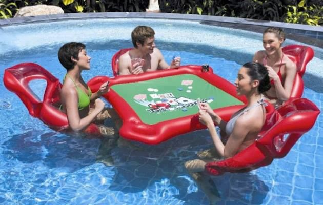 Great for any card or table game during the summer heat.