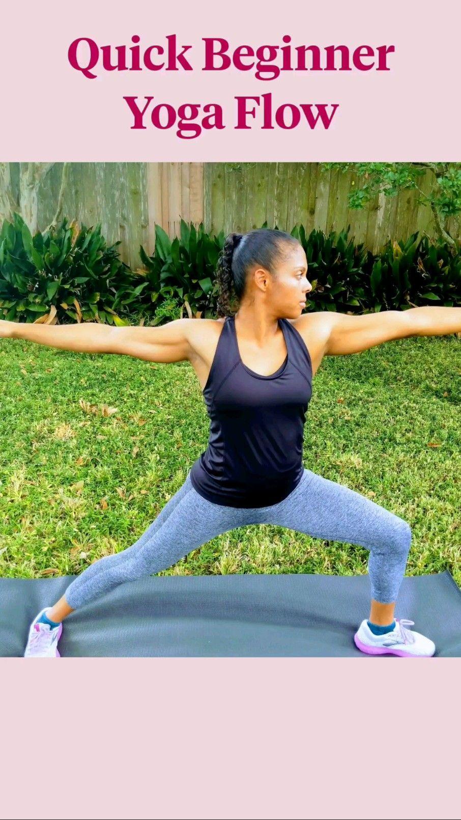 Quick Beginner Yoga Flow