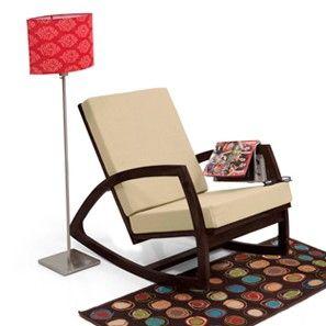 Dylan Rocking Chair (Mahogany Finish)