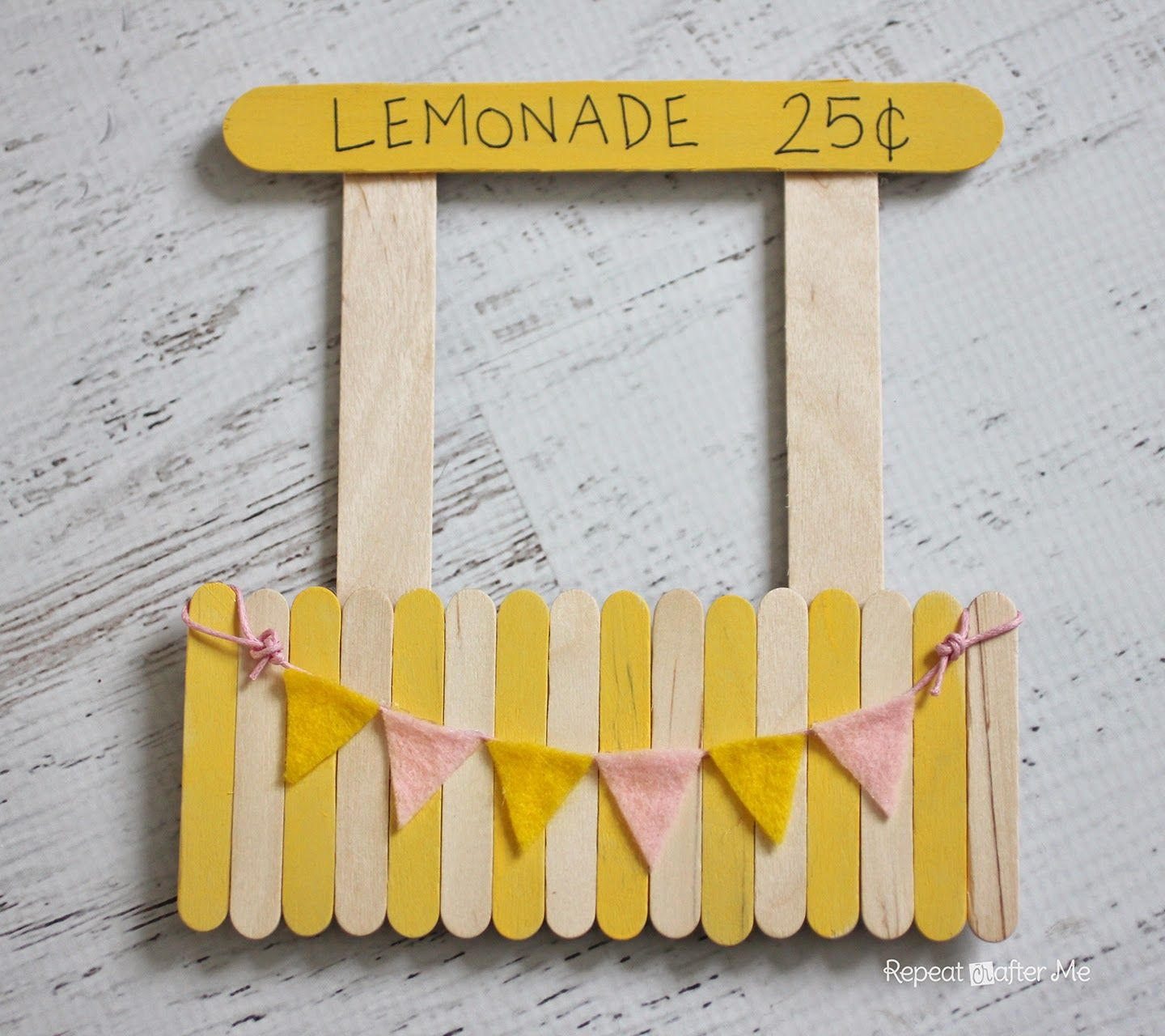 Lemonade stand magnetic picture frame repeat crafter me lemonade stand magnetic picture frame jeuxipadfo Gallery