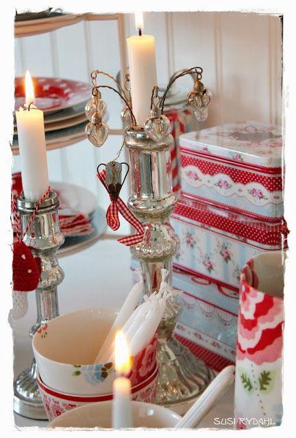 Sommerhusliv hele året...: Billeder fra vores køkken Julen 2013.