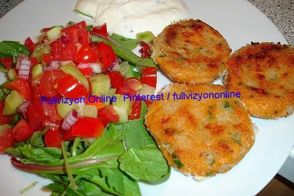 Sweet potato patties with yoghurt Dip and Kachumber Sweet potato patties with yoghurt Dip and Kachumber