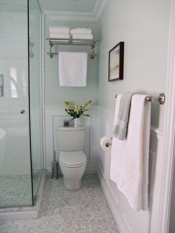 Glass Shower Next To Toilet Downstairs Reno Ideas
