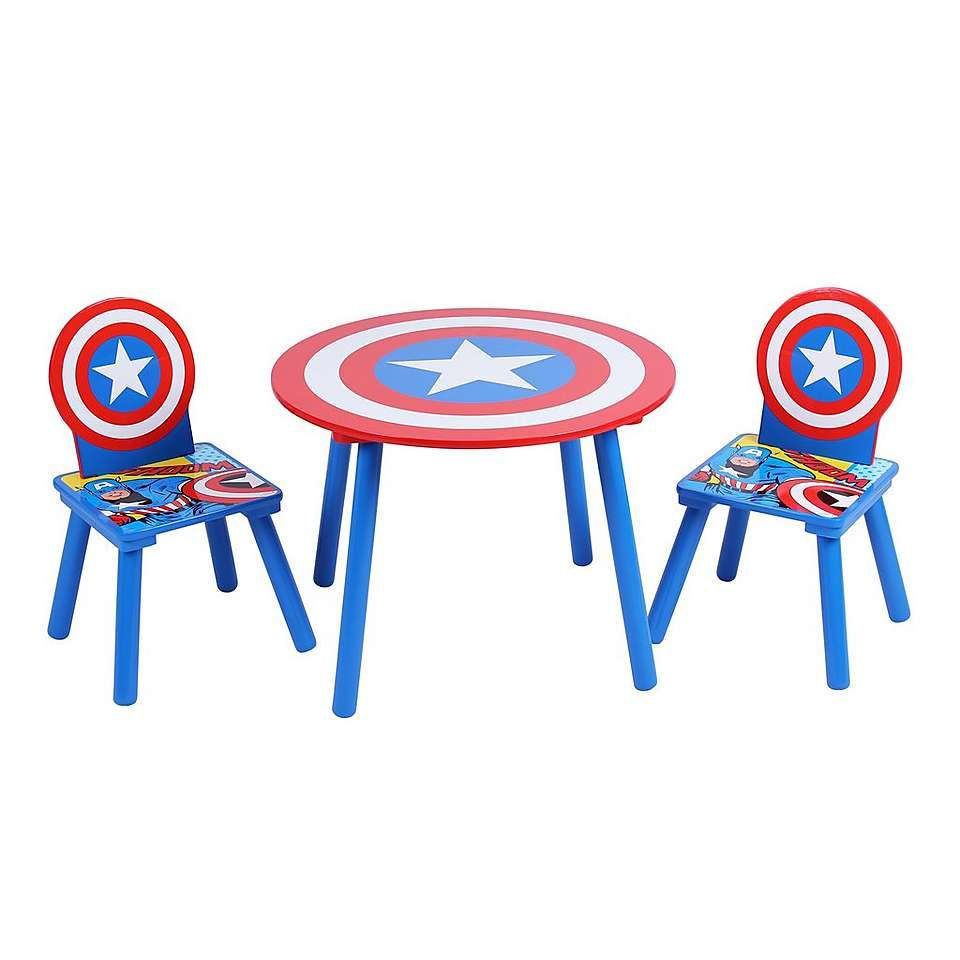 Strange Disney Avengers Table And Chair Set Dunelm In 2019 Table Pabps2019 Chair Design Images Pabps2019Com