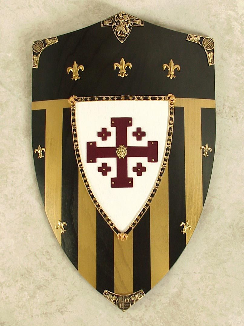 Jerusalem shield the emblem of the templar crusaders shields jerusalem shield the emblem of the templar crusaders biocorpaavc Images