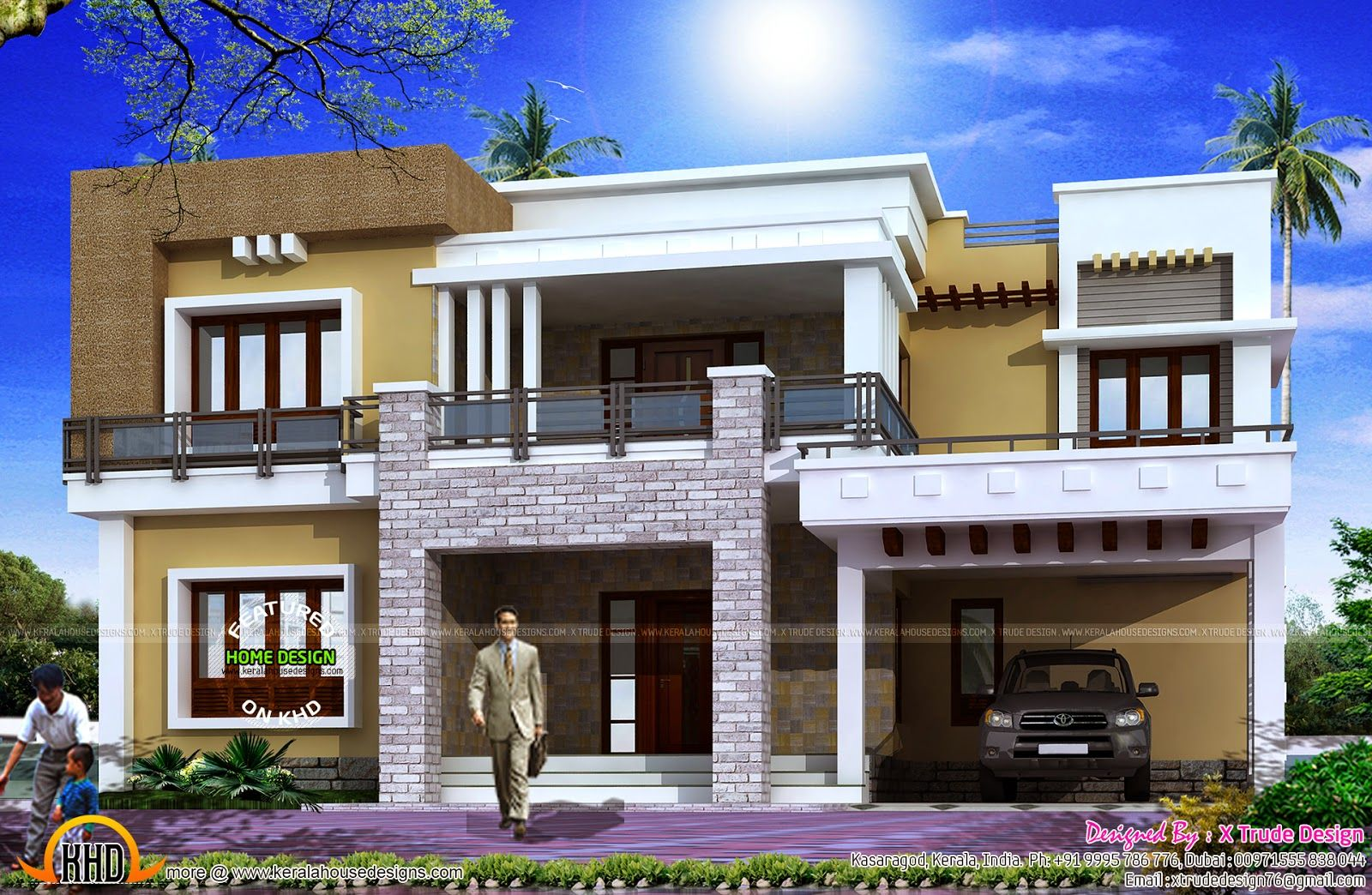 Superior Front Side Of 2800 Square Feet (260 Square Meter) (311 Square Yards)