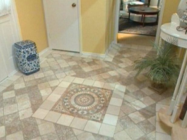 Tile Flooring Ideas How To Chalk The Layout Grid Pattern And Lay Floor Tiles