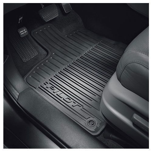 Awesome Great 2016 2017 Pilot All Season Weather Rubber Floor Mats Genuine Honda 2017 2018