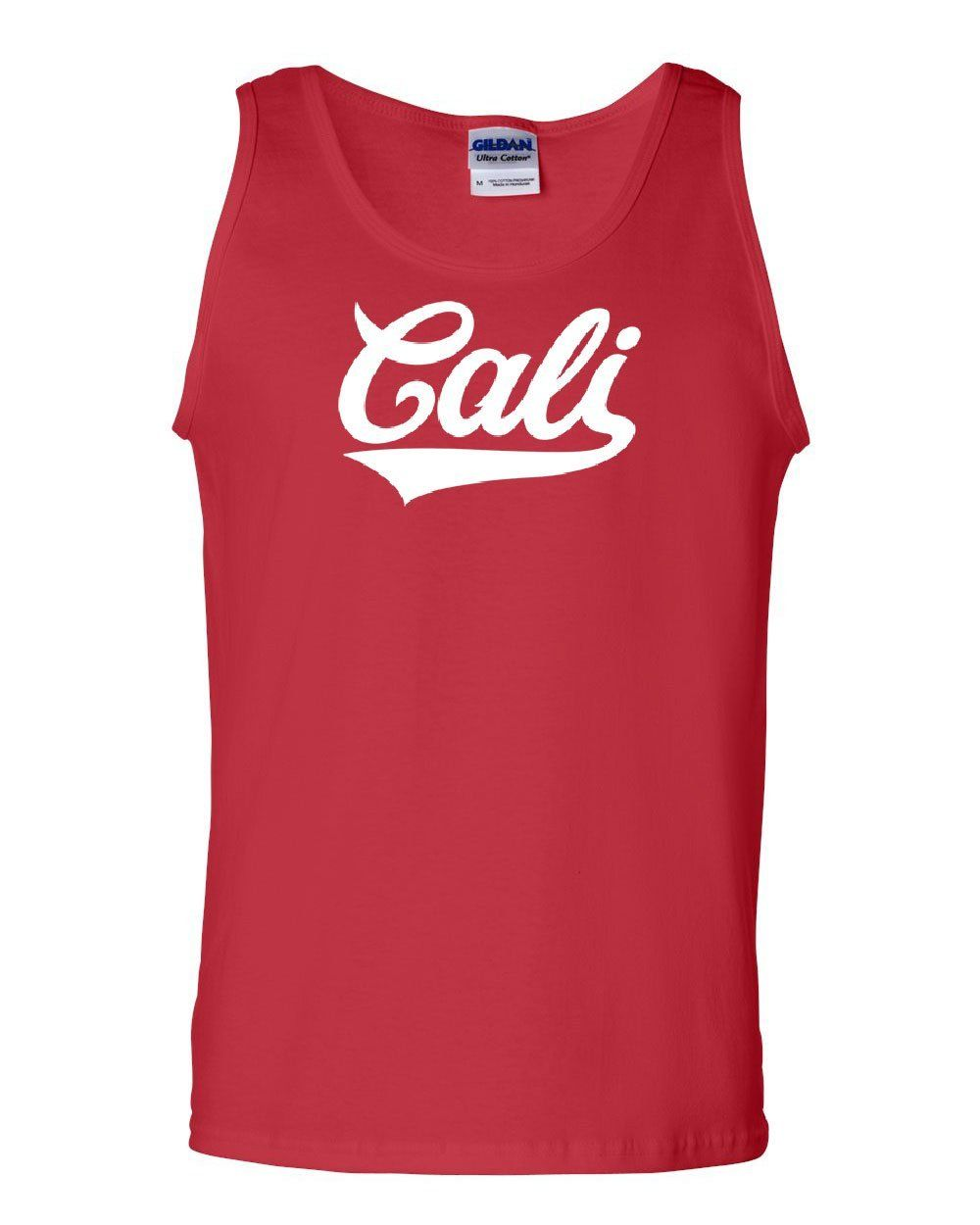 Cali Swoosh Tail V-Neck T-Shirt California Republic CA LA San Francisco Tee