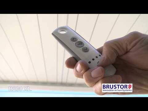 Pergola B 200 Overkapping Kantelbare Lamellen Brustor Solar Pergola Pergola Outdoor Living