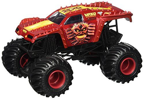 Hot Wheels Monster Jam Max D Truck Vehicle Red 1 24 Scale Read