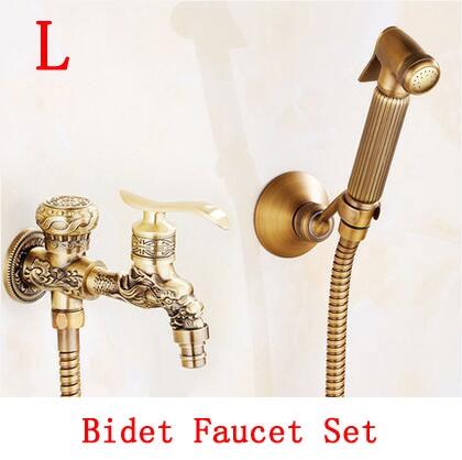 (64.89) Buy here Brass handheld bidet shower set