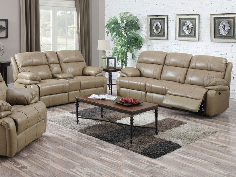 Flexsteel Sofa Bliss Leather Power Sofa Collection