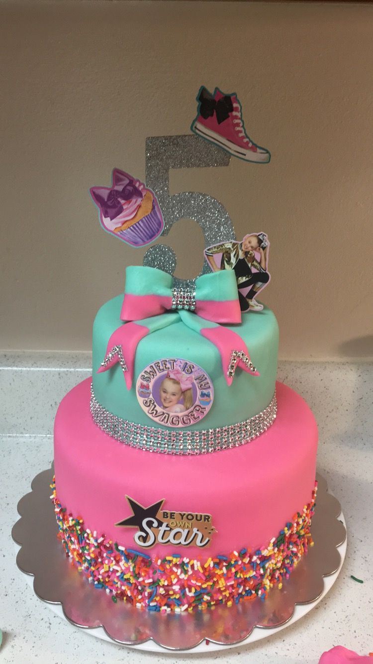 Jojo Siwa Birthday Cake Cupcakes Pinterest Jojo Siwa