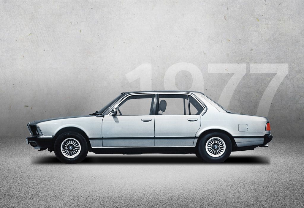 1977 - BMW 7 SERIES (E23) - The BMW 7 Series in 1977 rounds off the ...