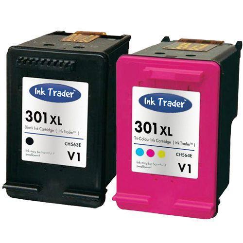 Details About Hp 301xl Black Colour Ink Cartridges Latest V1