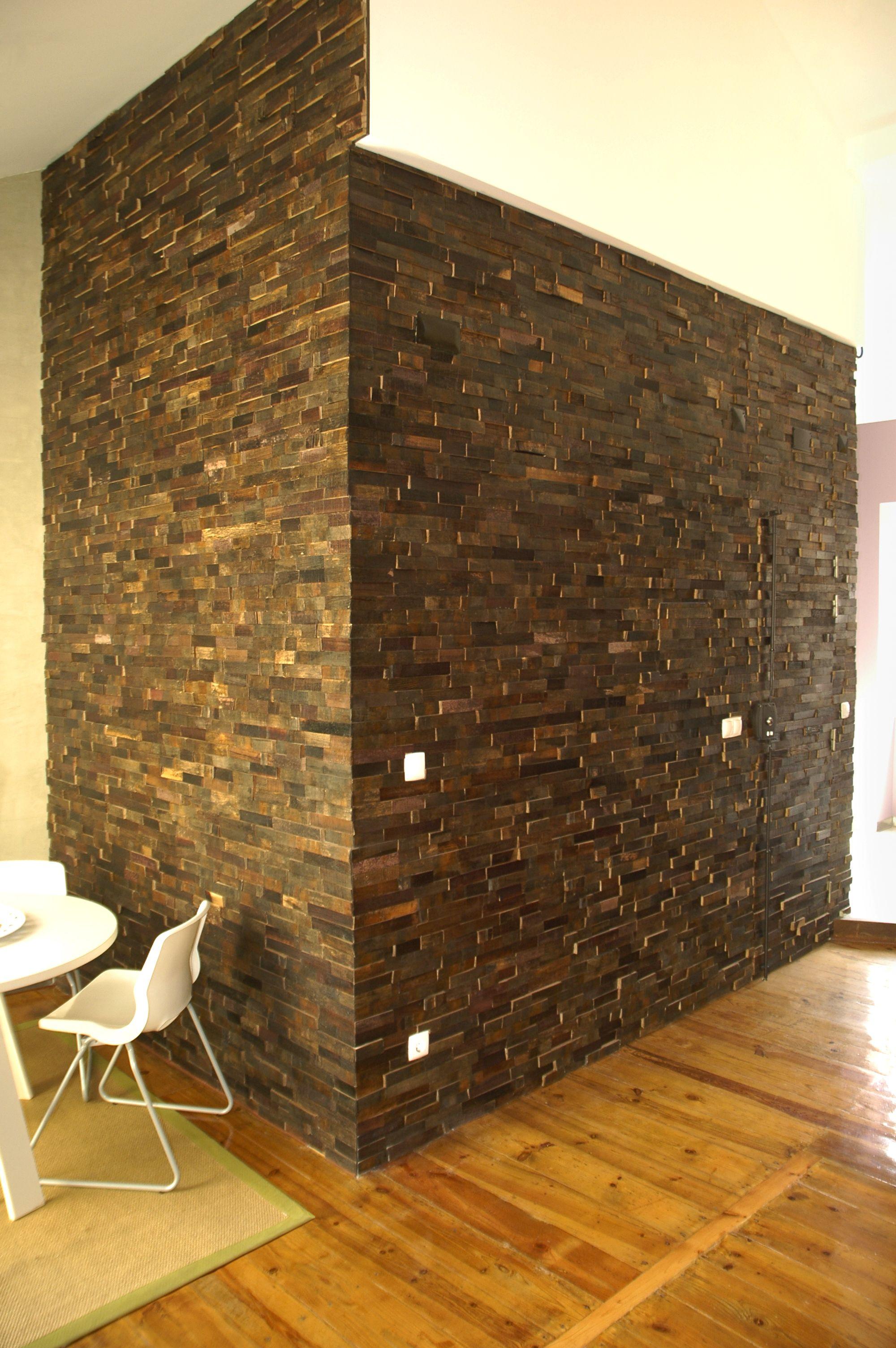 Brainwood – Pladec old barrels-pine, corner. #habitare2014 #design #sisustus #messut #helsinki #messukeskus