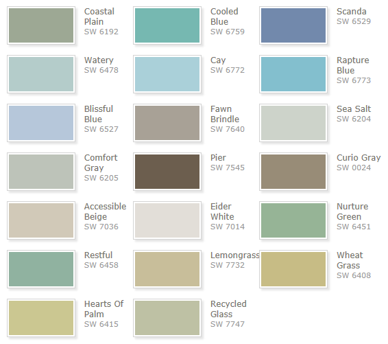 seaside paint colors you will love coastal paint colors on beach house interior color schemes id=84267