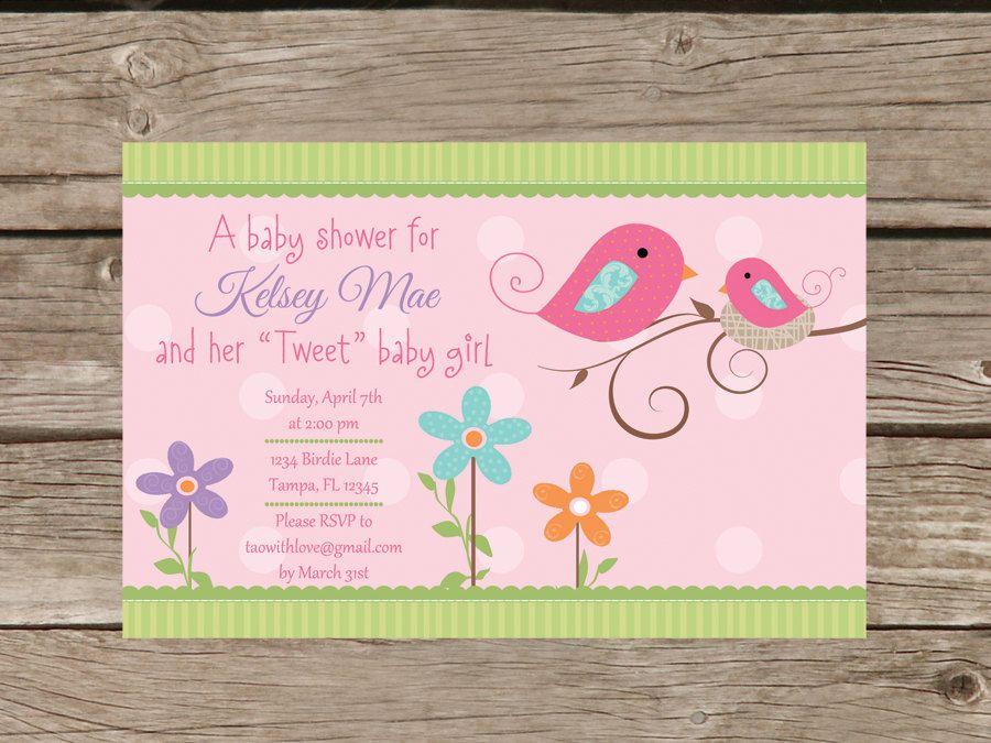 Printable Vintage Sports Baby Shower Invitation | Baby girl shower ...